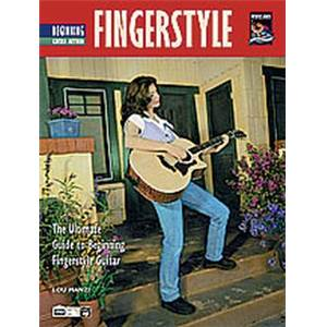 MANZI LOU - FINGERSTYLE GUITAR METHOD BEGINNING TAB. + CD