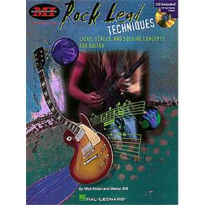 GILL DANNY - ROCK LEAD TECHNIQUES GUITAR TAB. + CD