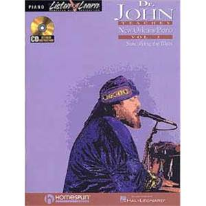 JOHN DR. - NEW ORLEANS PIANO VOL.3 + CD