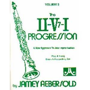 AEBERSOLD JAMEY - VOL. 003 II/V7/I PROGRESSIVE + CD