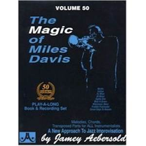 DAVIS MILES - AEBERSOLD 050 THE MAGIC OF MILES DAVIS + CD