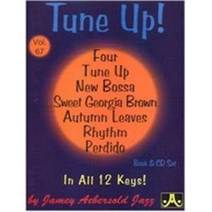 COMPILATION - AEBERSOLD 067 TUNE UP AND 6 MORE + CD