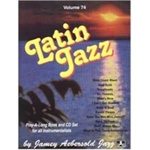 COMPILATION - AEBERSOLD 074 LATIN JAZZ + CD