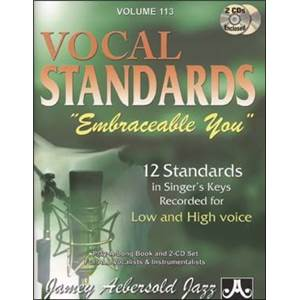 COMPILATION - AEBERSOLD 113 VOCAL STANDARDS + 2CD
