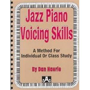 HAERLE DAN - AEBERSOLD JAZZ PIANO VOICING SKILLS