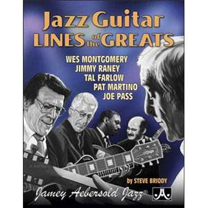 COMPILATION - JAZZ GUITAR LINES OF THE GREATS