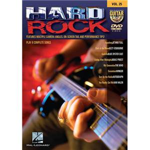 COMPILATION - GUITAR PLAY ALONG DVD VOL.25 HARD ROCK