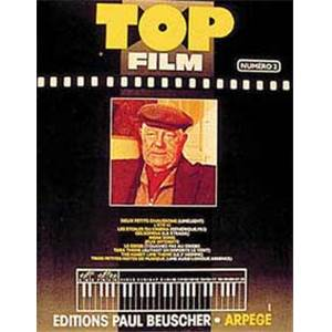COMPILATION - TOP FILMS VOL.2 PIANO SIMPLIFIE PAROLES ET ACCORDS