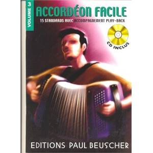 COMPILATION - ACCORDEON FACILE VOL.3 + CD
