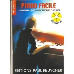 COMPILATION - PIANO FACILE VOL.1 + CD