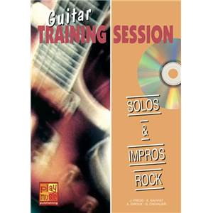 FREDD J. / SAUVIAT E. - SOLOS ET IMPROS ROCK METHODE GUITARE + CD