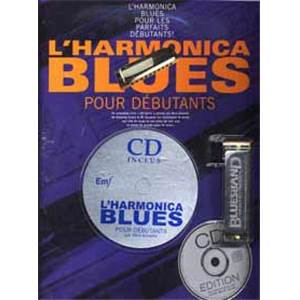 KINSELLA MICK - L'HARMONICA BLUES POUR DEBUTANT + CD + HARMONICA BLUES