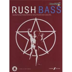 RUSH - AUTHENTIC PLAY ALONG BASS + CD