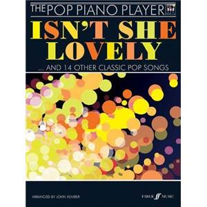 KEMBER JOHN - POP PIANO PLAYER ISN'T SHE LOVELY + CD