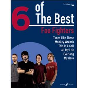 FOO FIGHTERS - 6 OF THE BEST GUITARE TAB.