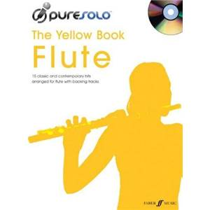 COMPILATION - PURE SOLO YELLOW VOL.FLUTE + CD