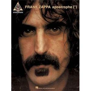 ZAPPA FRANK - APOSTROPHE GUITAR RECORDED VERSION