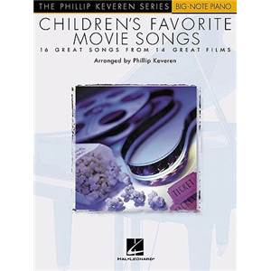 KEVEREN PHILLIP - EASY PIANO SOLOS CHILDREN'S FAVOURITE MOVIE SONGS