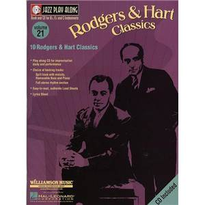 RODGERS / HAMMERSTEIN - JAZZ PLAY ALONG VOL.021 CLASSICS + CD