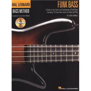 KRINGEL CHRIS - BASS METHOD FUNK BASS + CD