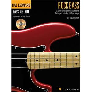 MALONE SEAN - BASS METHOD ROCK BASS STYLISTIC SUPPLEMENT + CD
