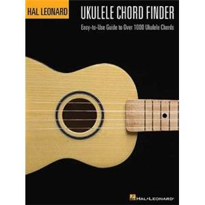 HAL LEONARD - UKULELE CHORD FINDER DICTIONNAIRE D'ACCORDS