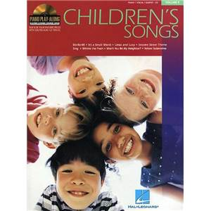 COMPILATION - PIANO PLAY ALONG VOL.009 CHILDREN'S SONGS + CD