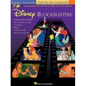 DISNEY - EASY PIANO CD PLAY ALONG VOL.11 DISNEY BLOCKBUSTERS + CD