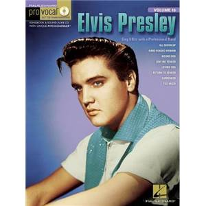 PRESLEY ELVIS - PRO VOCAL FOR MALE SINGERS VOL.16 VOL.2 + CD