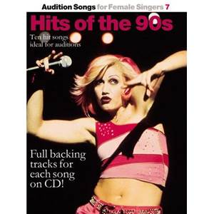COMPILATION - AUDITION SONGS FOR FEMALE SINGERS : HITS OF THE 90S + CD