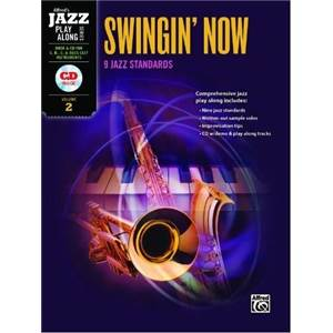 COMPILATION - JAZZ PLAY ALONG VOL.2 SWINGIN' NOW FOR C, BB, EB AND BASS CLEF + CD