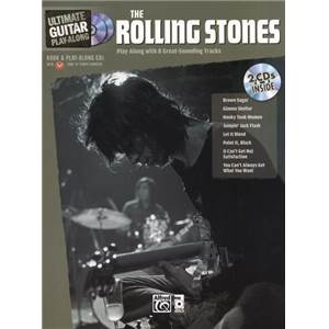 ROLLING STONES - ULTIMATE GUITAR PLAY ALONG + 2CD