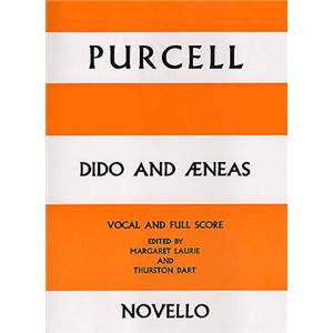 PURCELL HENRY - DIDO AND AENEAS VOCAL/FULL SCORE