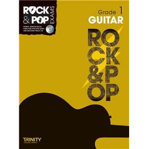 COMPILATION - TRINITY COLLEGE LONDON : ROCK & POP GRADE 1 FOR GUITAR + CD