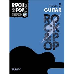 COMPILATION - TRINITY COLLEGE LONDON : ROCK & POP GRADE 5 FOR GUITAR + CD