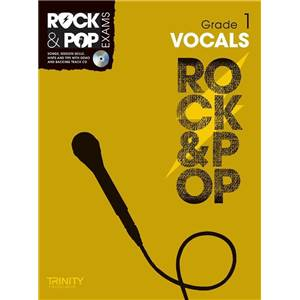 COMPILATION - TRINITY COLLEGE LONDON : ROCK & POP GRADE 1 FOR SINGERS + CD