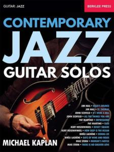 COMPILATION - CONTEMPORARY JAZZ GUITAR SOLOS BERKLEE PRESS
