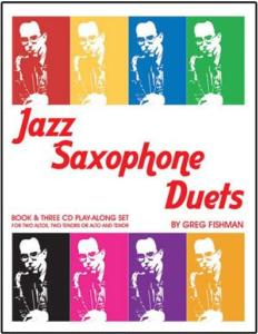 FISHMAN GREG - JAZZ SAXOPHONE DUETS VOLUME 1 + 3CD