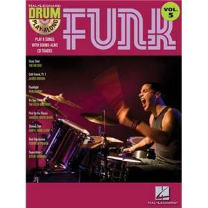 COMPILATION - DRUM PLAY ALONG FUNK VOL.5 + CD