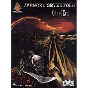 AVENGED SEVENFOLD - CITY OF EVIL GUIT. TAB.