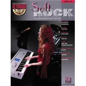 COMPILATION - KEYBOARD PLAY ALONG VOL.2 SOFT ROCK + CD