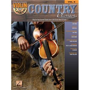COMPILATION - VIOLIN PLAY ALONG VOL.008 COUNTRY CLASSICS + CD