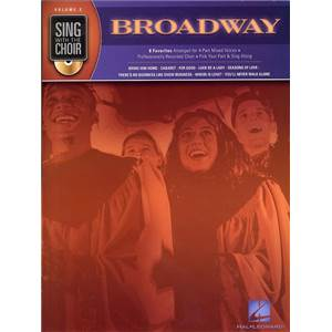 COMPILATION - SING WITH THE CHOIR VOL.02 BROADWAY + CD