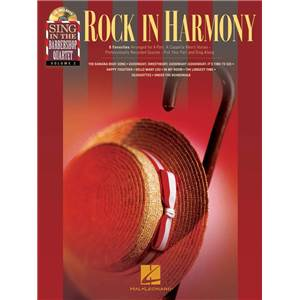 COMPILATION - SING IN THE BARBERSHOP QUARTET VOL.2 ROCK IN HARMONY + CD