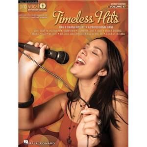 COMPILATION - PRO VOCAL FOR WOMEN SINGERS VOL.47: TIMELESS HITS + CD
