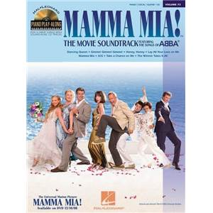 ABBA - PIANO PLAY ALONG VOL.073 MAMMA MIA + CD