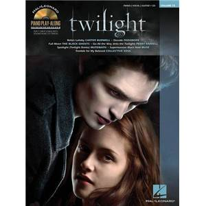 COMPILATION - PIANO PLAY ALONG VOL.075 TWILIGHT + CD