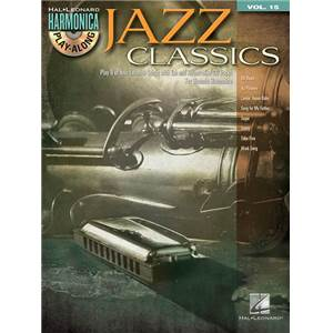 COMPILATION - HARMONICA PLAY ALONG VOL.15 JAZZ CLASSICS + CD