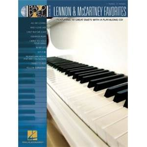 LENNON / MCCARTNEY - PIANO DUET PLAY ALONG VOL.38 FAVORITES + CD