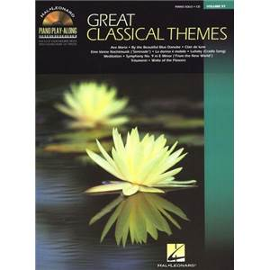 COMPILATION - PIANO PLAY ALONG VOL.097 GREAT CLASSICAL THEMES + CD